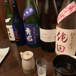 魚楽 - メニュー外の日本酒