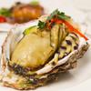 鎌倉山下飯店 - 料理写真:7月8月特大岩牡蠣フェアコース