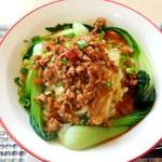 上海邨 - 料理写真:汁なし担々麺(800円)