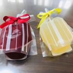 コンディトライ アキヤマ - 料理写真:木苺ゼリー グレープフルーツゼリー