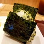 和味茶屋 こめまる - 野沢菜じゃこ 260円
