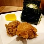 和味茶屋 こめまる - 塩ザンギセット 340円