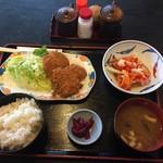 食堂もり川 - 日替わり定食のひとつ