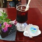 北海道立釧路芸術館喫茶コーナー - アイスコーヒー