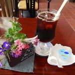 北海道立釧路芸術館喫茶コーナー - この頃まではスマホとカメラを使っていました