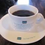 カフェ サルーテ - ホットコーヒー。     2019.06.30