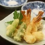 旬膳 八起 - ◆海老天ぷら