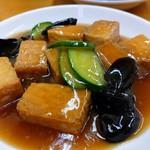 ラーメン台北 - 肉豆腐