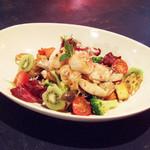 THUMBS UP - 焼きホタテと冬野菜&フルーツのサラダ