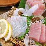 牡蠣・海鮮居酒屋 蔵よし - 鯛!赤身!中トロ!
