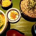 そば吉 - 料理写真:(ハーフ&ハーフ)ミニ玉子丼とミニそば 820円