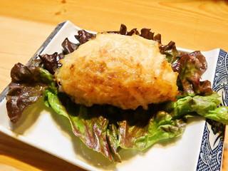 恵三 - 蟹の甲羅焼