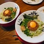 麺者風天 - 料理写真:汁なし辛肉まぜそば