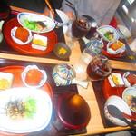 110674905 - 4人のランチ限定 鯛茶漬け定食 900円(税込)デフォ【2019年6月】