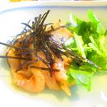 110674956 - ランチ限定 鯛茶漬け定食 900円(税込)鯛刺しのアップ【2019年6月】