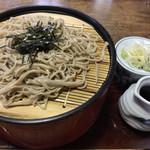 野麦路 - 料理写真:ざる蕎麦1人前 大盛 ¥1180