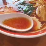中華そばふくや - スープ