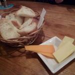 11068139 - お通しのパンとチーズ