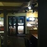 リルビッツカフェ - 店内 かなり広くなりました