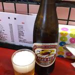 喜久 - ドリンク写真:ビール(大瓶)