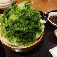 甘味処 楓-宇治金時 670円