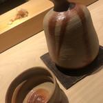 こま田 - 備前焼の徳利