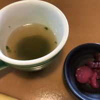 KURO珈琲-スープ アオサ?