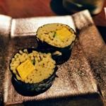 個室接待・打ちたて蕎麦 永山 - お蕎麦のお寿司?
