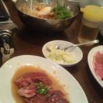 11069140 - ハラミ、カルビ、梅しそ冷麺