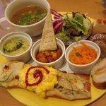 ブーランジェリ・エ・カフェ オブジェ - スープ&ホットバゲットランチ