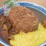 丸沼高原レストランプラトー - メガランチ「はげ盛」