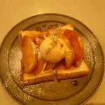 ザコーヒーハウス - 焼きりんごトースト