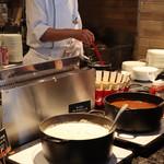 CORAL TABLE - 宿泊のモーニングでオムレツはシェフが焼きたてを提供してくれます^ ^