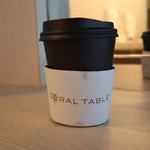 CORAL TABLE - 帰り、コーヒーのサービスが(´。✪ω✪。`)これは嬉しい!