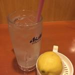 多古菊 - 生搾りレモンサワー