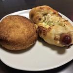 粉とクリーム - 惣菜パソはカレーかウインナーにかぎる!