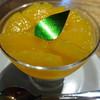 クリオロ - 料理写真:オレンジのブランマンジェ