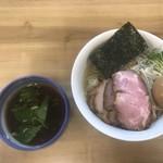 麺処 有彩 - 料理写真:昆布水つけ麺 醤油 特製 大盛(400g)
