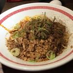 らあめん 広 - 広島式汁なし担々麺シビレ普通