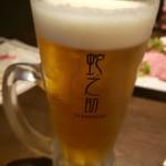 和食居酒屋 蛇之助 - ビール