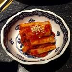 晩翠 - 白菜キムチ