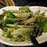 晩翠 - チョレギサラダ