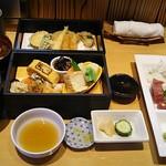 Shunsouyahiro - ●ランチ 特選二段重 2,160円 (税込) (内容:前菜・造盛り・八寸・炊合せ・天盛) 2019年06月