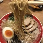 麺堂 香 - 細麺ストレート