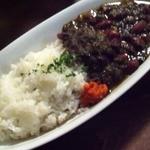 ロス・バルバドス - 3回目2012年1月6日コンゴ共和国のキンシャサ料理チャカ・マデス:コンゴ風いんげん豆と青菜の煮込み