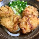 いわのや - 料理写真:鶏天ぶっかけ