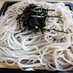 生そば 長寿庵 - 料理写真:ざるそば