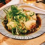 110712975 - 『生麩と豆腐の揚げ出し』様(もちろん値段見て無い)