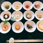 祇をん 豆寅 - 先付:豆皿12点おばんざい様