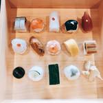 祇をん 豆寅 - 食事:豆すし&白味噌汁様